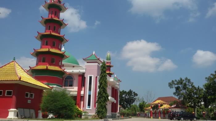 Masjid Cheng Ho Palembang Ramai Calon Mualaf Ramadan Kental Nuansa