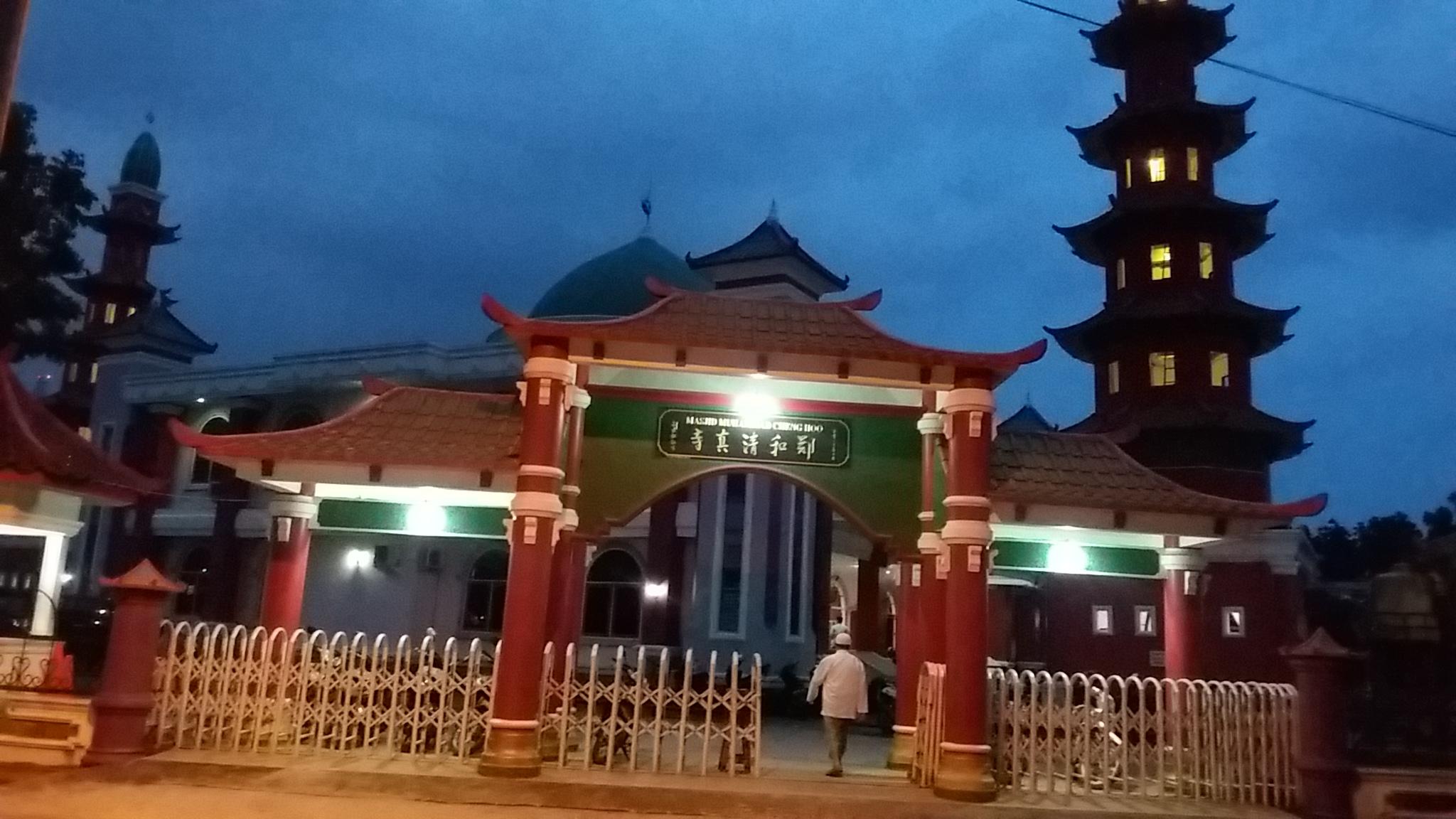 Masjid Cheng Ho Palembang Simbol Bersatunya Multikultur Rayapos Hoo Kota