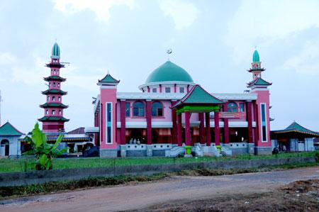 Masjid Cheng Ho Palembang Wikipedia Bahasa Indonesia Ensiklopedia Bebas Hoo