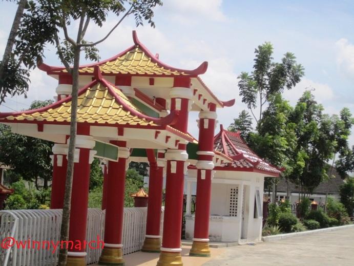 Masjid Cheng Ho Palembang Winny Marlina Pintu Masuk Muhammad Hoo
