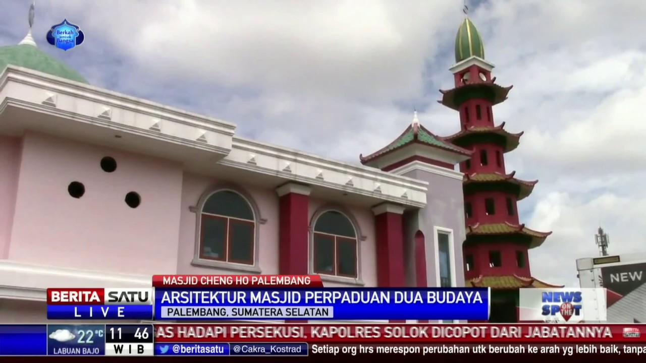 Masjid Cheng Ho Pusat Pengetahuan Islam Palembang Youtube Hoo Kota