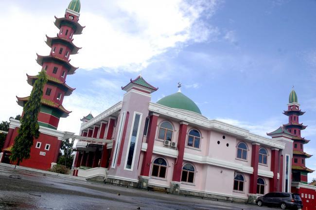Masjid Cheng Ho Simbol Keragaman Kota Palembang Hoo