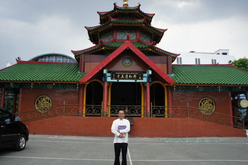 Masjid Cheng Ho Surabaya Tiru Arsitektur Niu Jie Beijing Muhammad
