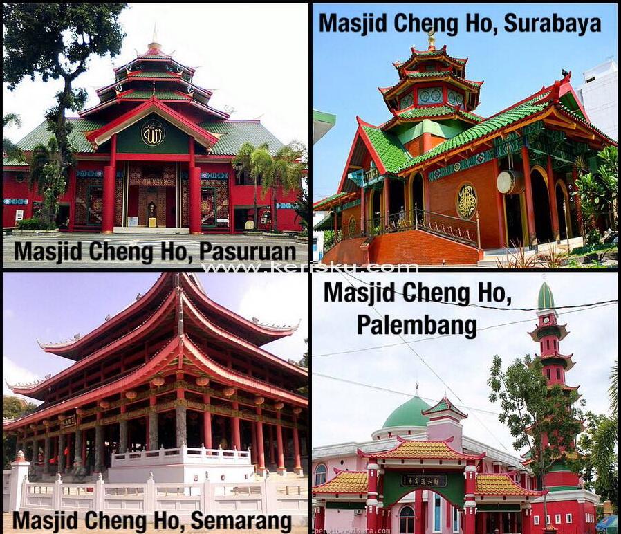 Masjid Cheng Ho Web Kerisku Inshare Hoo Palembang Kota