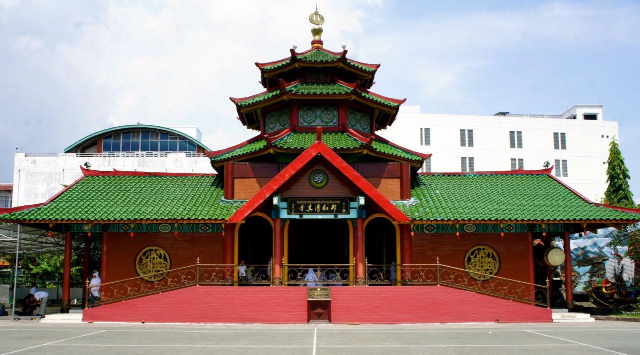 Masjid Cheng Ho Wisata Religi Surabaya Jawa Timur Hoo Palembang