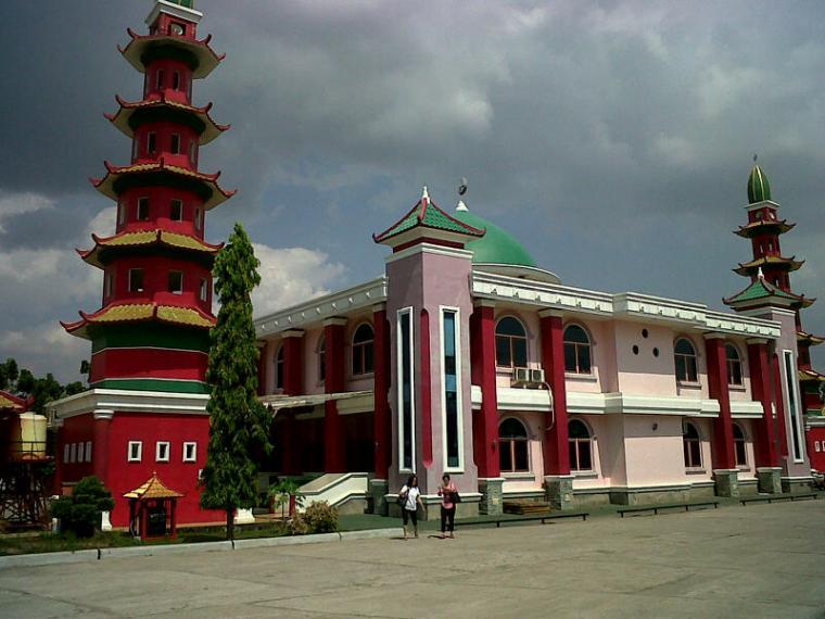 Masjid Cheng Hoo Arsitektur Unik Oleh Sutiono Gunadi Palembang Kota