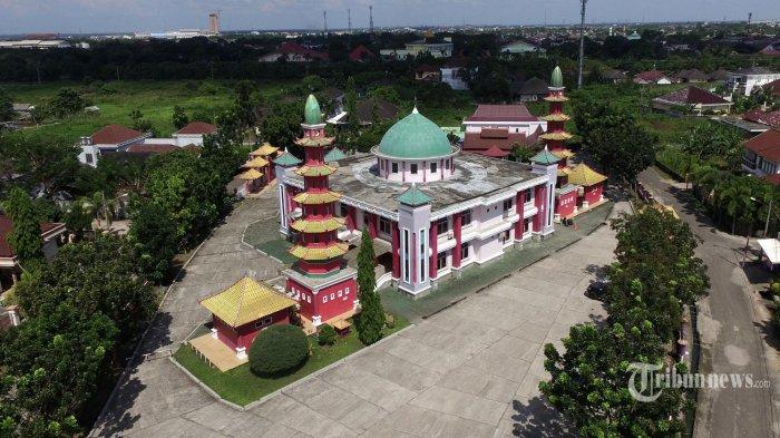 Masjid Cheng Hoo Palembang Bukti Akulturasi Islam Melayu Tiongkok Kota