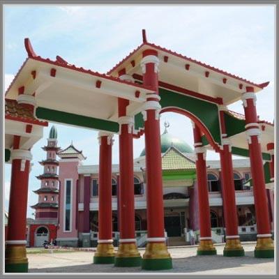 Masjid Cheng Hoo Palembang Desain Oriental Unik Ho Memiliki Arsitektur