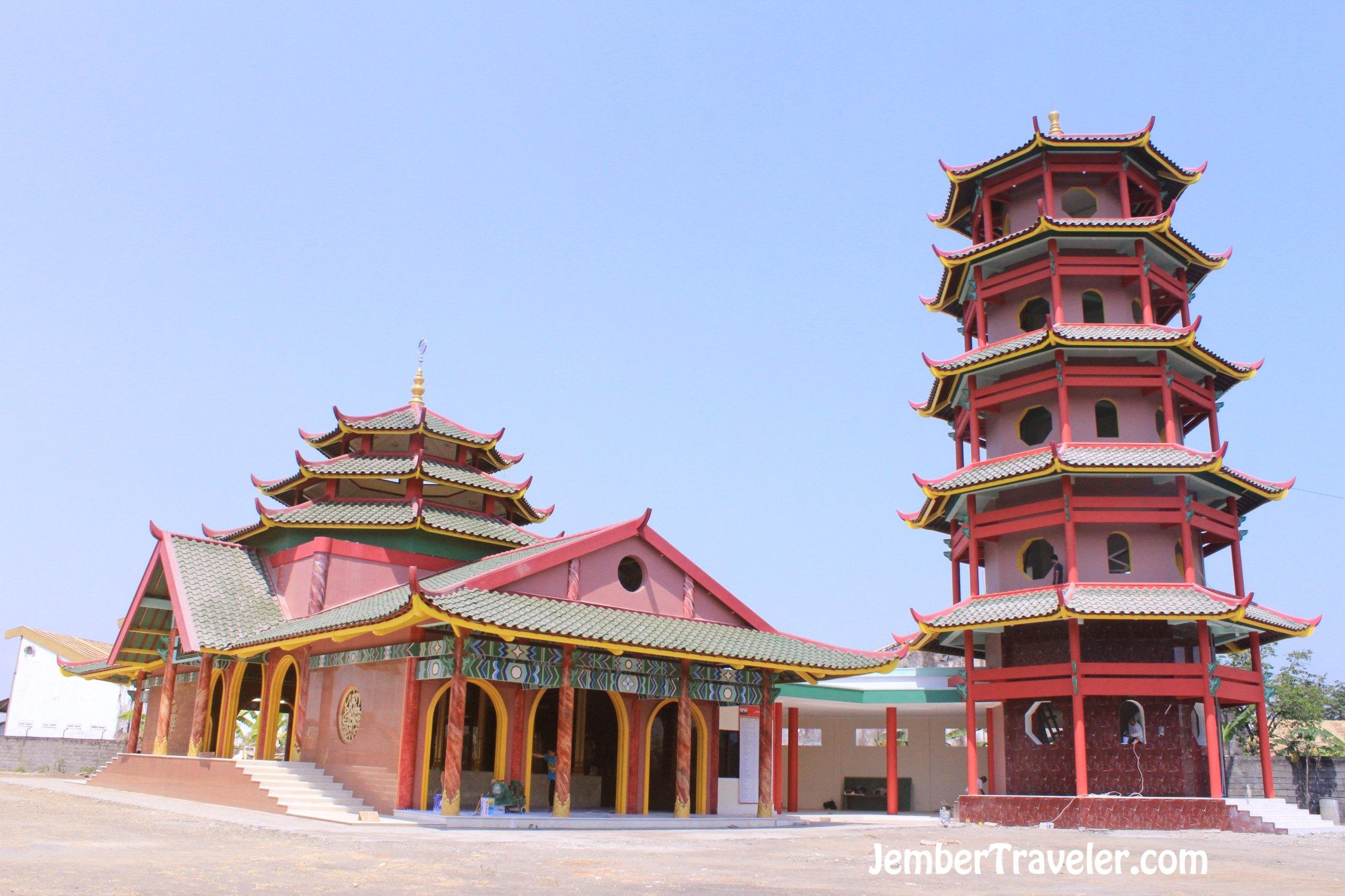 Masjid Muhammad Cheng Ho Jember Traveler Pagodanya Hoo Palembang Kota