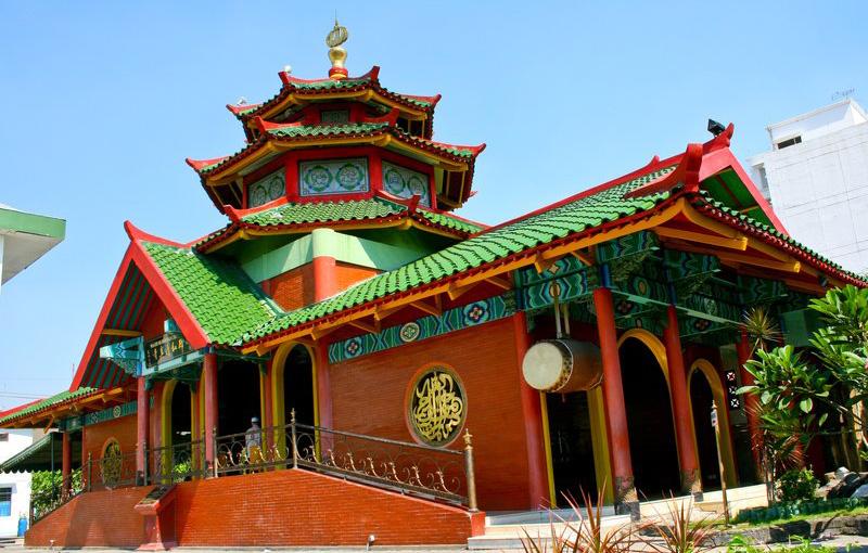 Mengunjungi Masjid Cheng Hoo Bernuansa Tiongkok Surabaya Palembang Kota