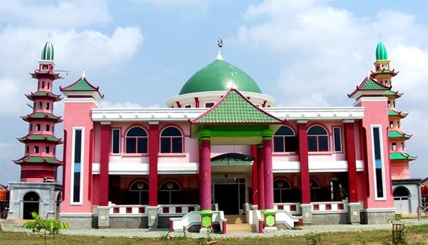 Mesjid Cheng Ho Palembang Rental Mobil Murah Masjid Hoo Kota