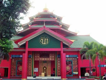 Paket Wisata Pelayaran Cheng Ho Masjid Hoo Palembang Kota