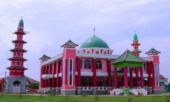 Palembang History Masjid Cheng Ho Hoo Kota