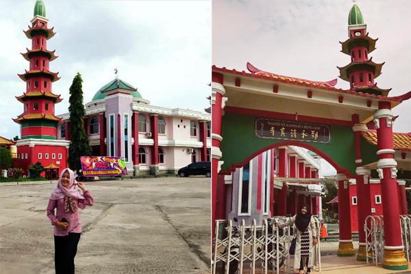 Panduan Lengkap Wisata Palembang Blog Ivacanza Masjid Cheng Ho 2