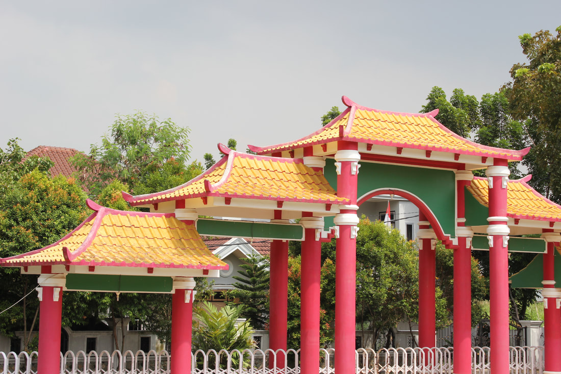 Pesona Palembang Masjid Cheng Ho Alter Ego Pride Foto Gapura