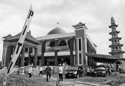 Rindu Masjid Cheng Ho Palembang Suasana Ketika Pertama Hoo Kota
