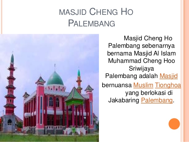 Sumatera Selatan 28 Masjid Cheng Hoo Palembang Kota
