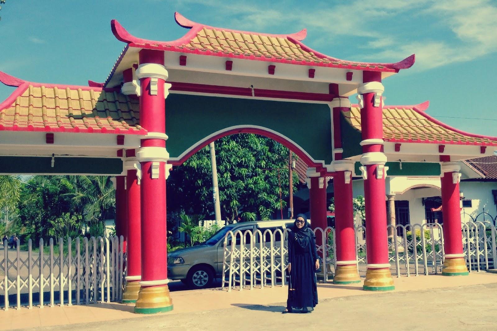 Walk Palembang Mesjid Muhammad Cheng Hoo Masjid Kota