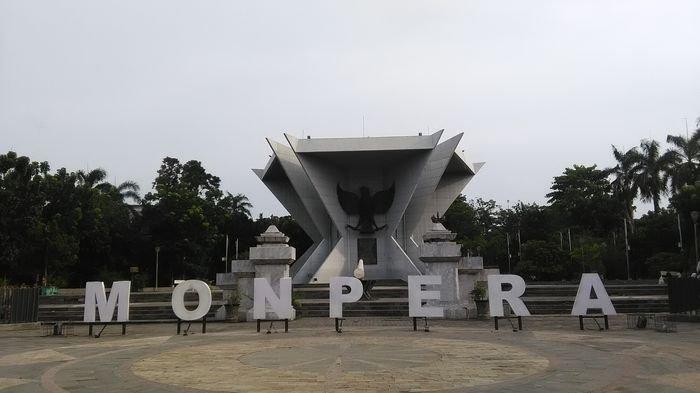 Asiknya Lihat Kota Palembang Puncak Monpera Sumatera Selatan Monumen Perjuangan