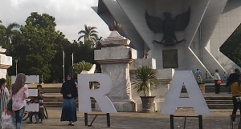 Berita Musi Wisata Palembang Ramai Pengunjung Monumen Perjuangan Rakyat Monpera