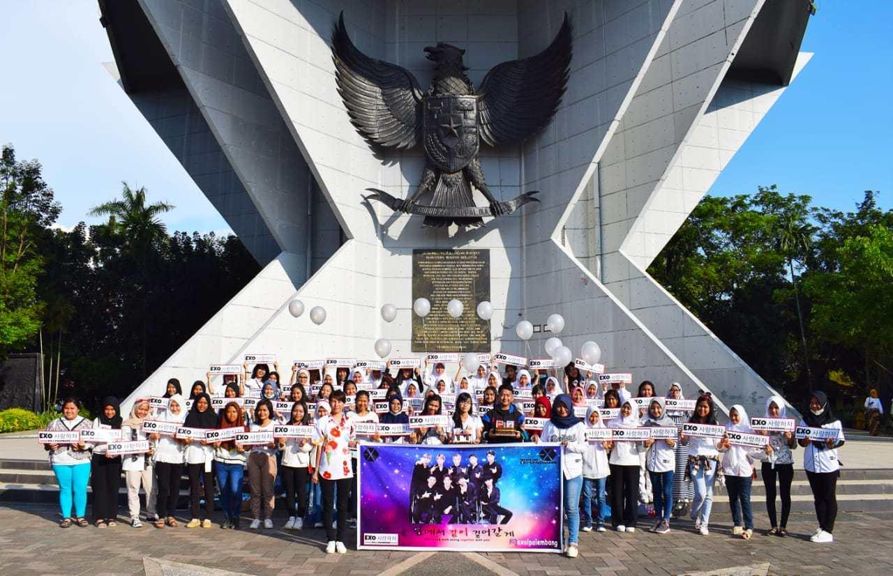 Exo Anniversary Palembang Merayakan Lamanqu Reporter Nedyanto Editor Arjeli Ss