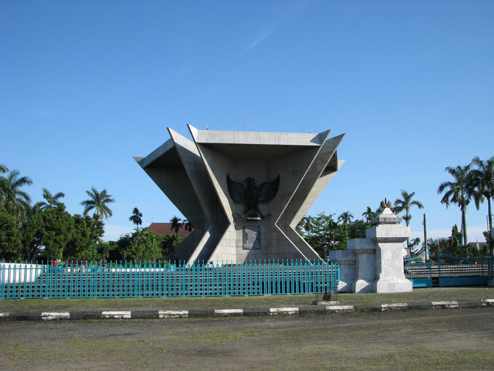 Itikkecil Blue Sky Life Beautiful Monumen Perjuangan Rakyat Palembang Kota