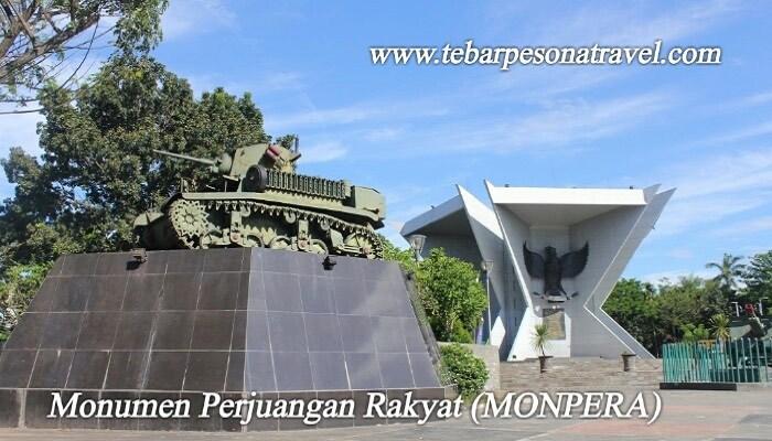 Menikmati Keindahan Tempat Wisata Kota Palembang Monumen Perjuangan Rakyat Monpera