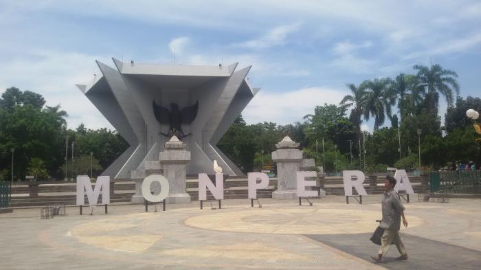 Monpera Palembang Sucinya Perjuangan Dilukiskan Bentuk Monumen Bersejarah Rakyat Kota