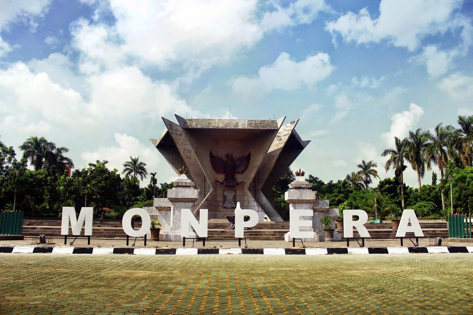 Monpera Palembang Sumatera Selatan Youtube Monumen Perjuangan Rakyat Kota