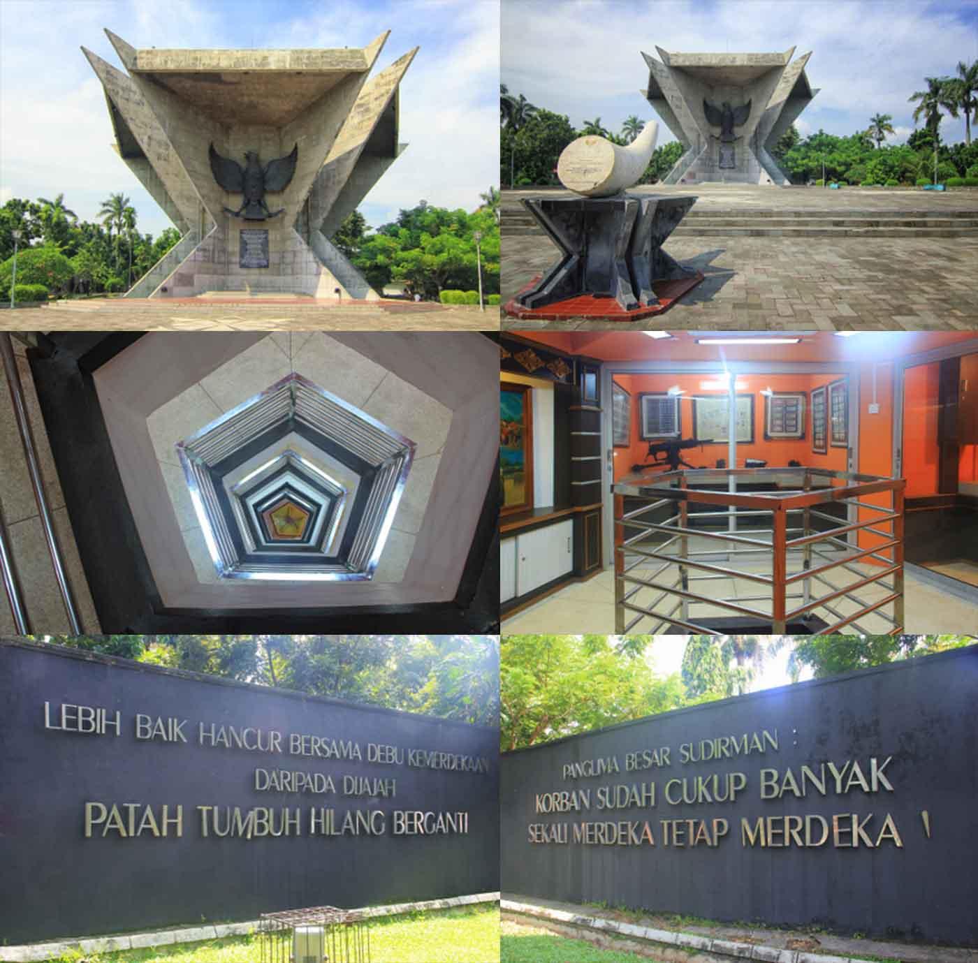 Monpera Tugu Bersejarah Kota Palembang Sumatera Selatan Kamera Suasana Sekitar