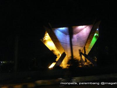 Monumen Perjuangan Rakyat Dinas Tata Kota Palembang Monper Monpera Bangunan