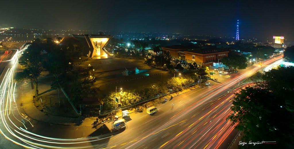 Monumen Perjuangan Rakyat Kota Palembang Mapio Net Monpera