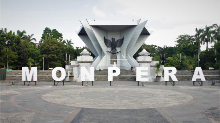 Monumen Perjuangan Rakyat Monpera Pariwisata Palembang Kota