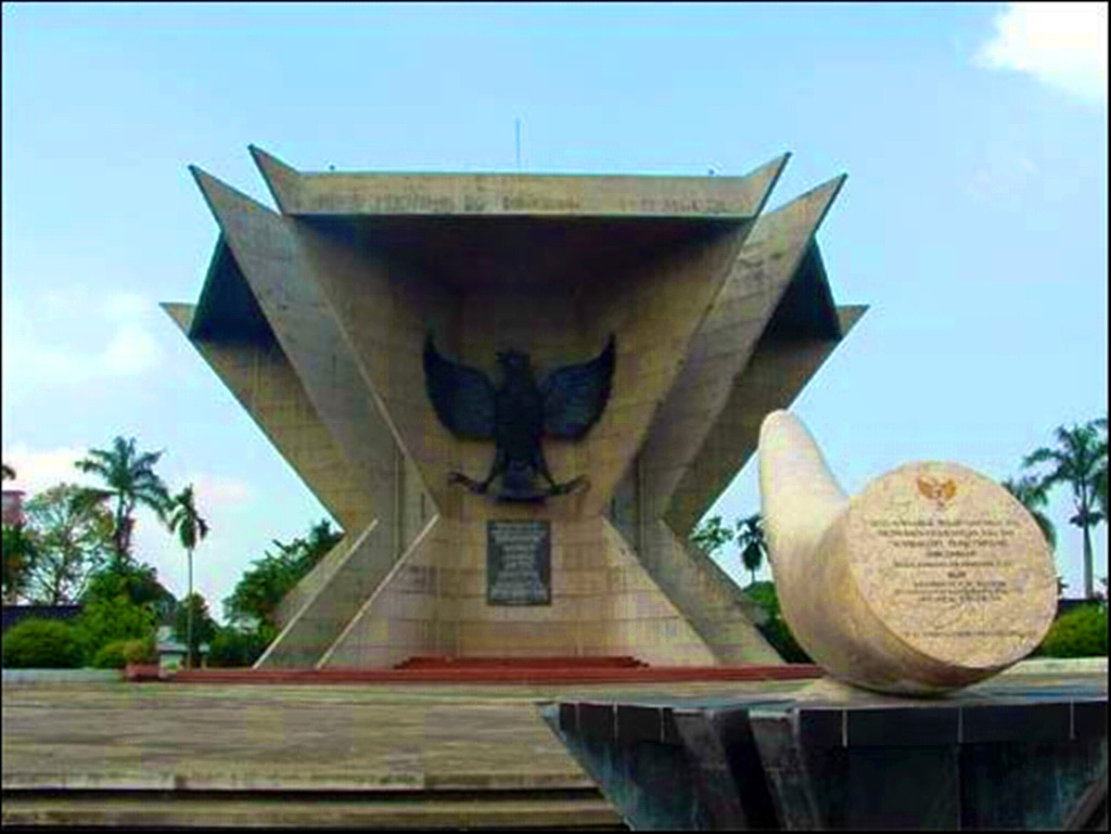 Monumen Perjuangan Rakyat Monpera People Struggle Monument Revolution Battle Days