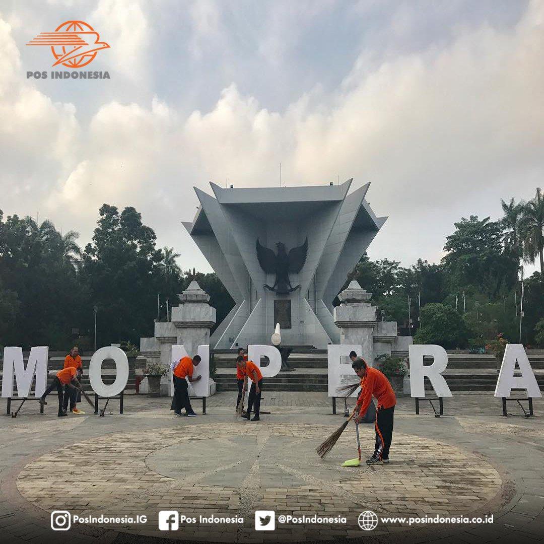 Pos Indonesia Twitter Setelah Keesokan Harinya Membersihkan Lingkungan Kota Palembang