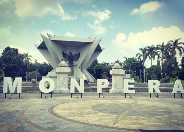 Wisata Sejarah Monpera Palembang Monumen Perjuangan Rakyat Kota