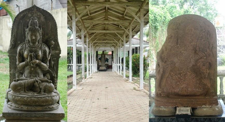 Bangsal Arca Museum Negeri Sumatera Selatan Patung Sebuah Tempat Menyerupai
