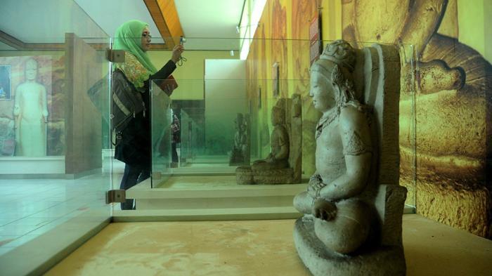 Berwisata Sekaligus Belajar Sejarah Sumsel Museum Balaputra Dewa Tribunnews Negeri