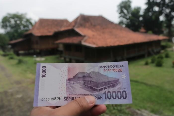 Inilah Penampakan Nyata Rumah Limas Uang Rp 10 000 Bikin