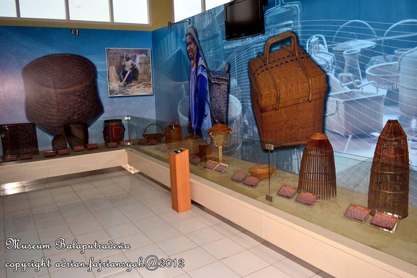 Kebudayaan Kuliner Palembang 2014 Benda Kerajinan Khas Museum Negeri Balaputra
