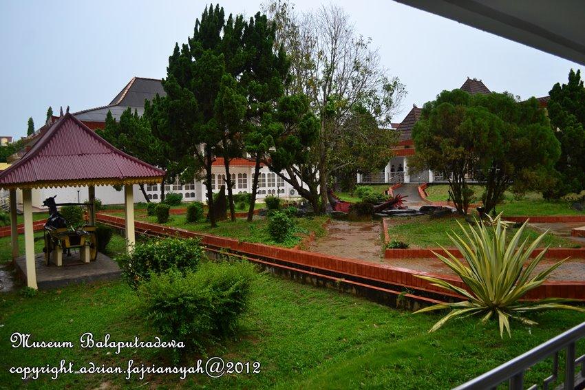 Museum Balaputradewa Palembang Pesona Taman Tengah Negeri Balaputra Dewa Kota