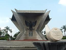 Museum Kota Palembang Blog Indonesia Monumen Perjuangan Rakyat Terletak Diantara