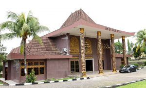 Museum Negeri Balaputra Dewa Palembang Dibangun Diatas Lahan Seluas 23