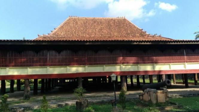 Rumah Limas Museum Balaputra Dewa Palembang Viva Image Title Negeri