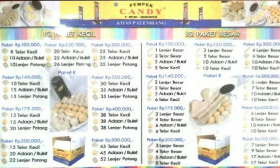 2 Picture Pempek Candy Palembang Tripadvisor Kota