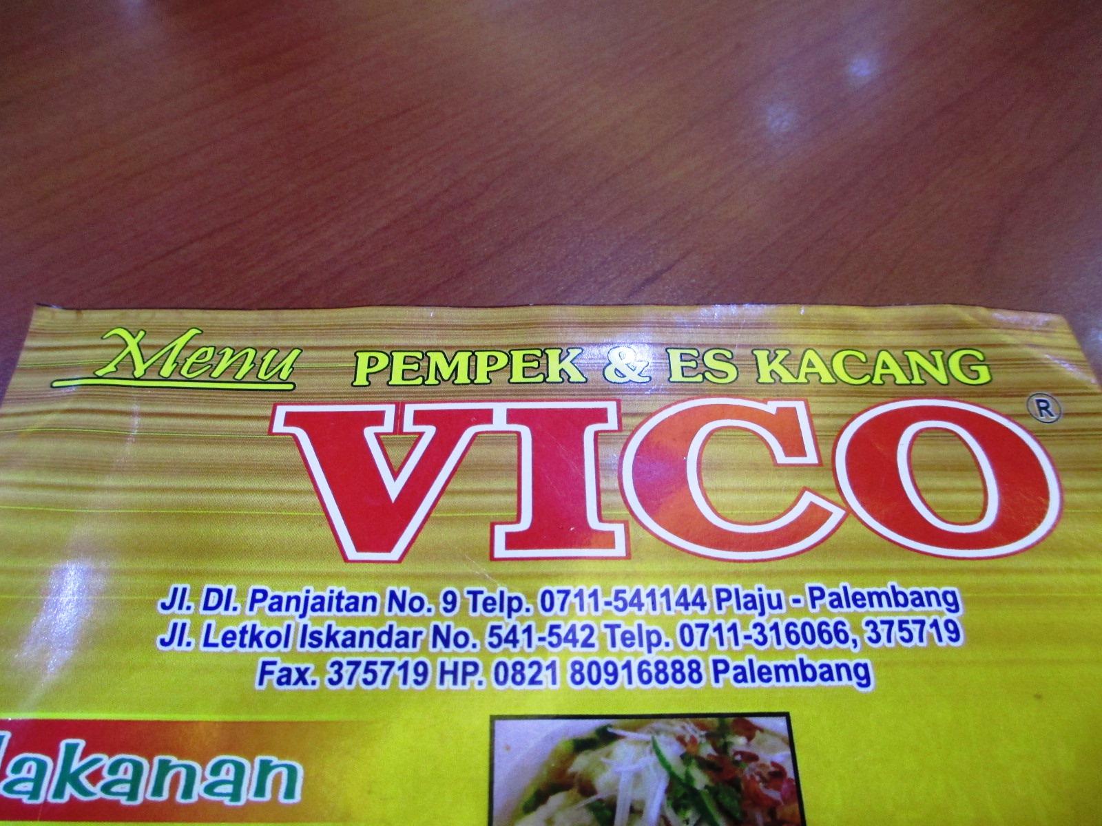 Adeknakemal Jalan2 Makan2 Kuliner Pempek Vico Lokasi Datangi Jalan Panjaitan