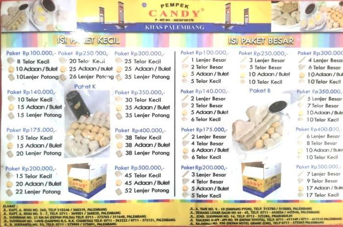 Jual Pempek Candy Asli Palembang Paket 9 Aneka Kota