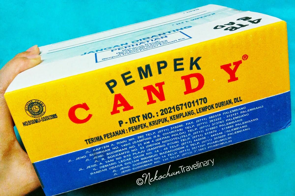 Mencicipi Pempek Candy Asli Palembang Kota