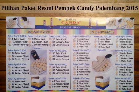Pemasaran Oleh Studi Kasus Pempek Palembang Ircham Aganovi Paket Candy
