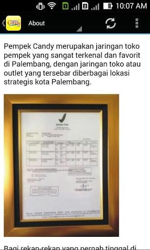 Pempek Candy Apk Version 1 0 Screenshot 2 Palembang Kota